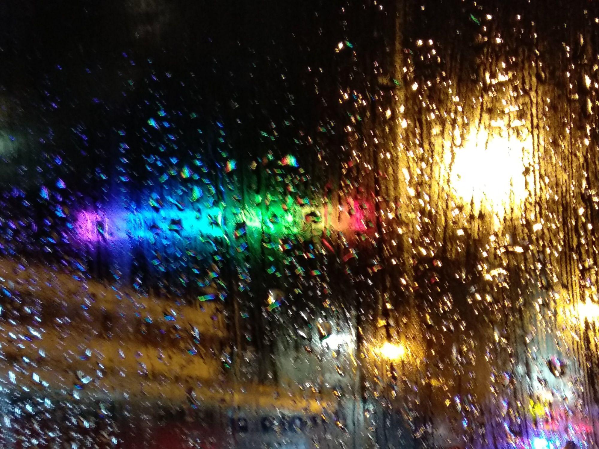Rained Lights